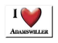 MAGNETS FRANCE - AQUITAINE SOUVENIR AIMANT I LOVE ADAMSWILLER (BAS RHIN)