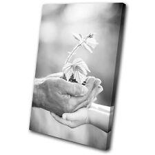 Love Grandfather Eco Floral  SINGLE LONA pared arte Foto impresion