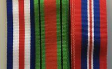"Full Size British Military Medal Ribbons World War 2, 6"" lengths  *[MEDRIB]"
