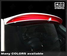 Fiat 500 Sport Spoiler Rear Highlight Stripe Decal 2007 2008 2009 2010 2011