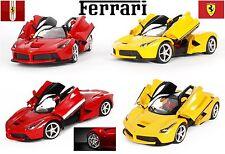 LA Ferrari licencia de Radio Control Remoto Escala 1:14 de coche rojo y amarillo RC Juguete Regalo