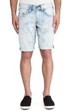 True Religion Men's Geno Slim Cut Off Shorts Light Antelope MQ2A365IF4