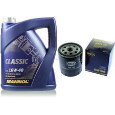 Ölwechsel Set 5L MANNOL Classic 10W-40 + SCT Ölfilter Service 10164222
