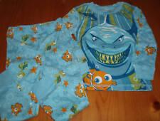 USA Disney Nemo Hai Fisch Jungen Baby langarm Pyjama blau Gr. 86 NEU