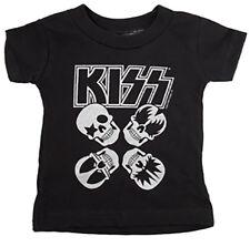 KISS Skulls Bébé T-shirt De Sourpuss, États-Unis