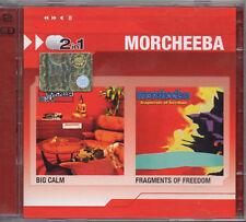 MORCHEEBA raro DOPPIO 2 CD 23 tracce 2 IN 1 BIG CALMS + FRAGMENTS OF FREEDOM