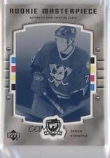 2005 Upper Deck The Cup 191 Zenon Konopka Anaheim Ducks (Mighty of Anaheim) Card