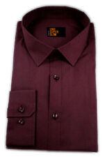 Seidensticker Herren Langarm Hemd UNO SUPER SLIM rot strukturiert 675030.49