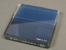 cokin Filter COEF. +1  2/3 BLUE (80B) A021, +cokin box!