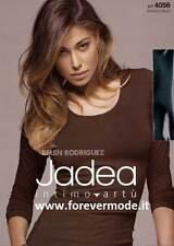 Suéter mujer Jadea bajo chaqueta algodón elástico a manga larga art 4056