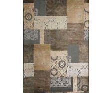 Tappeto Moderno Farashe Marrone effetto patchwork | 7 misure disponibili