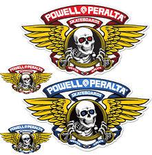 Powell Peralta / Bones Flügel Ripper Skateboard Aufkleber - 12.7cm Or 30.5cm