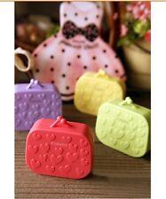 Cute Handbag Mini Contact Lens Case Kit including 4 essential items inside