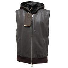 3247M giubbotto uomo marrone 0.41 ZEROQUATTROUNO pelle giacche jackets coats men