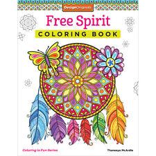 Design Originals-Free Spirit Coloring Book, Do-5532