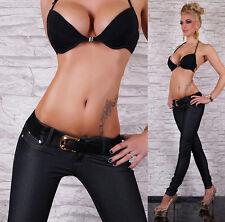 Jeans pour femme sexy leggings femme jeggings pantalon chaud Casual Denim inc ceinture
