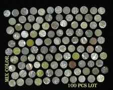 Natural Loose Diamond Rough Ronde Coupe I3 clarté Mix Couleur 100 Pcs Lot NQ30