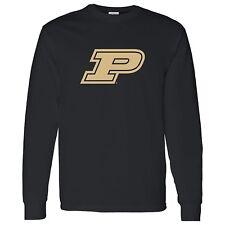 Purdue Boilermakers Primary Logo Licensed Unisex Long Sleeve T-Shirt