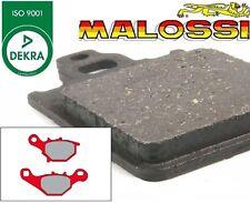 2 Plaquettes de frein Avant MALOSSI MHR Suzuki Adress V 100, Street Magic 50