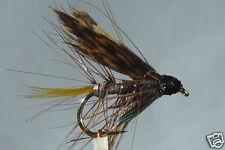 10x Mouche de peche Noyée Invicta Argent H10/12/14 mosca wet fly silver