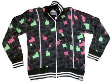 2. elección amplified Run DMC 80'ies'er discoteca club all over Print Wow chaqueta S/M 48