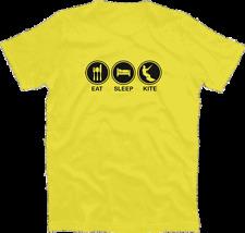 Eat Sleep kite Surfer Evolution surf surfing kitesurfer t-shirt S-XXXL