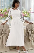 Rose Quartz Chiffon Lace Dress Gown Bridesmaid Party Midnight Velvet 10 16 18W