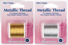Hemline Metallic Sewing Thread (H242-M)