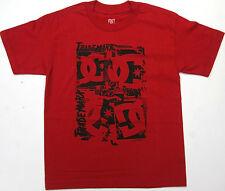 DC Boys T Shirt DC Trademark  Skate 100% Cotton Red DC Shoes Brand  DC