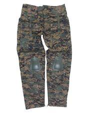 Uso pantalones Tactical Warrior Woodland digital
