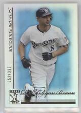 2010 Topps Tribute Blue #67 Ryan Braun Milwaukee Brewers Baseball Card
