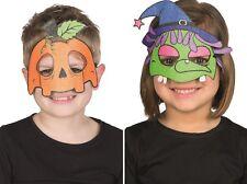 Rubies Kindermaske 6245600  Hexe oder 6245601  Kürbis, Maske Halloween, Karneval