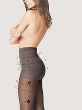 Fiore Körperpflege Comfort Light Support Strumpfhose + Silber Anti Bac 40 Denier bis XL