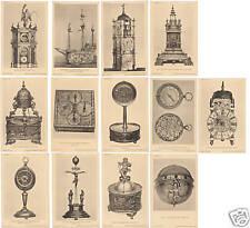 13 CPA BRITISH MUSEUM - HORLOGES ET PENDULES