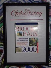 18.Geburtstag (2x) orig. Kalenderblatt SEPT.- DEZ. 2000 -Geschenk Hochzeitstag