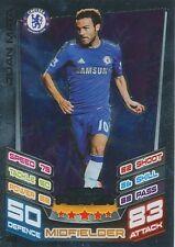 N°363 JUAN MATA # ESPANA CHELSEA.FC TRADING CARD MATCH ATTAX TOPPS 2013