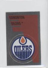 1991-92 Panini Album Stickers #154 Edmonton Oilers Team Hockey Card