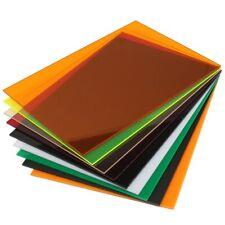 A4 Transparent Acrylic Plexiglass Tinted Sheets/plexiglass plate/acrylic plate