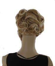 Haarteil Zopf mit Kämmchen Haarverlängerung  Perücke  gelockt