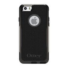 OtterBox Commuter for iPhone 5S SE 6 6S 7 Plus Black Grey Carbon Fiber Print