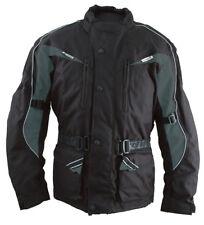 Roleff lange Motorradjacke - Rollerjacke für Damen und Herren mit Protektoren