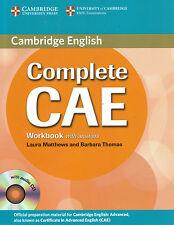 Cuaderno de ejercicios con respuestas de Cambridge completa cae y audio CD @NEW @ inglés avanzado