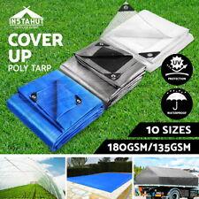 3m X 4m Silver Linings Heat Reflective Tarp or Tarpaulin for Camping