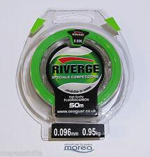 RIVERGE 50 MT. Filo Colpo Speciale Competizione -Fluorocarbon Invisible in Water