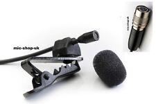 Discreet Tie Clip  Lapel Discrete Microphone For Audio Technica Wireless