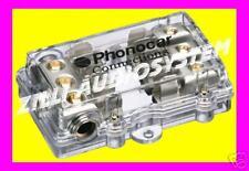 PORTAFUSIBILE DISTRIBUTORE A 3 VIE AGU 25 mmq. NUOVO Phonocar 4/488