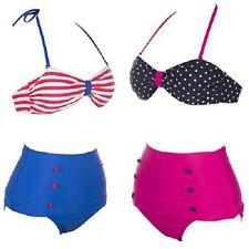 High Waisted bikini 50s Style Bikini 10 12 14 retro Style bikini 14 Pinup girl