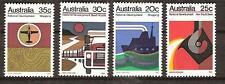 Australia # 550-553 Mnh Australian Economic Developement