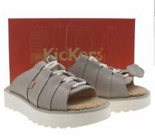 KicKers WOMEN'S, KIDS TAUPE KICK LITE MULE UK 6.5; UK 7. NUBK