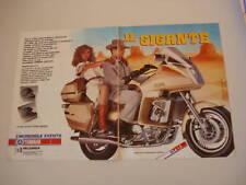 advertising Pubblicità 1984 MOTO YAMAHA XVZ 1200 TD